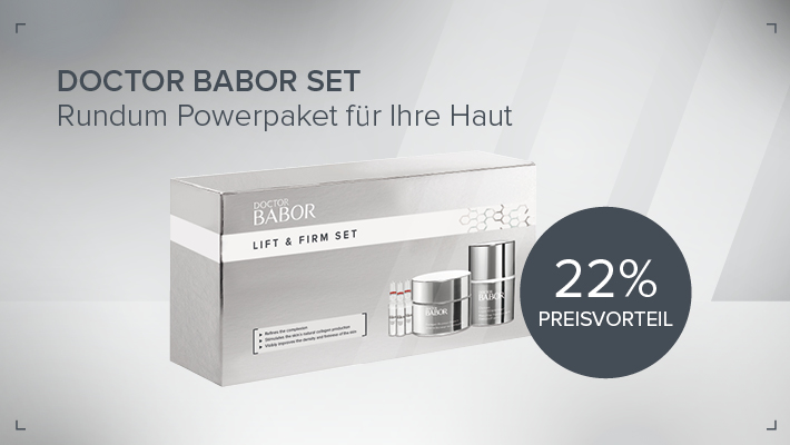 DOCTOR BABOR Set Lift + Firm